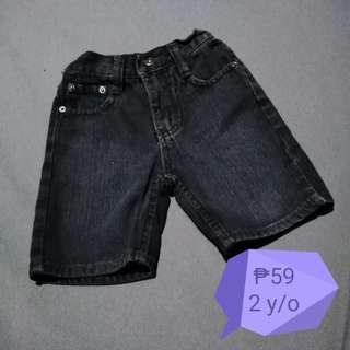 🐷Black Denim Shorts