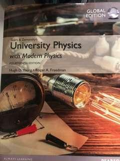 Sears & Zemansky's University Physics with Modern Physics