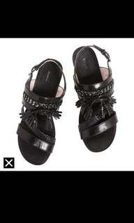 Mimco Love & Peaceeather sandals