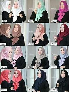 Hijab instan pita
