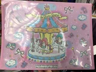 [日本限定]Sanrio little twin stars file 快勞 文件袋