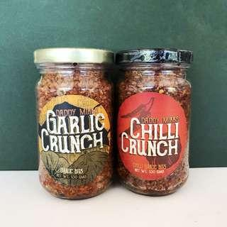 DADDY MIKK'S Garlic and Chili Crunch Set