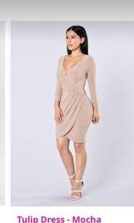 Fashion Nova Tulip Wrap Dress