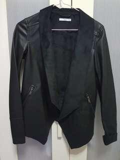 Esprit Black Soft LeatherJacket