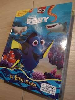 New Disney Pixar Finding Dory My Busy Book 12 Figurines Playmat Age 3+ #NEW99