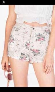 TCL Juliette floral shorts the closet lover