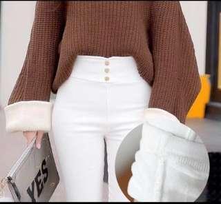 🚚 Winter White Long Jegging pant