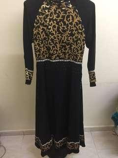 Abaya princess cut dress