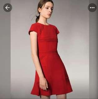 Saturday club red dress