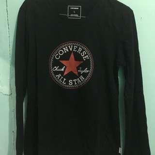 Converse long sleeve black