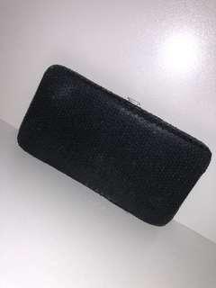 Black & silver wallet