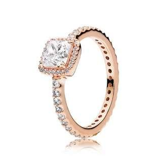 Authentic Pandora Timeless Elegance Rose Gold