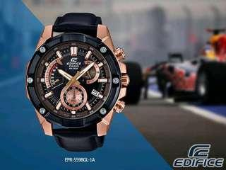 Brand New Casio Edifice Chronograph Retrograde Dial Ion Plated with FREE DELIVERY 📦 EFR559BGL