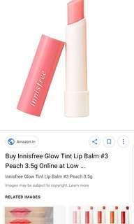 New Innisfree Gloss Lip Balm #3