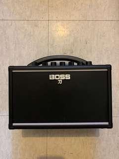 9成9新 吉他音箱 入電池 便攜 購自通利