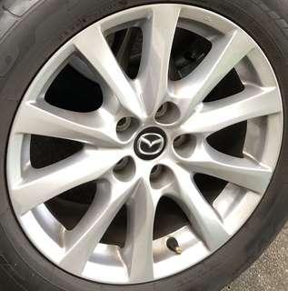 """4 X Mazda 6 17"""" Rims"""