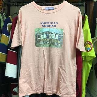 🚚 90s粉紅T恤