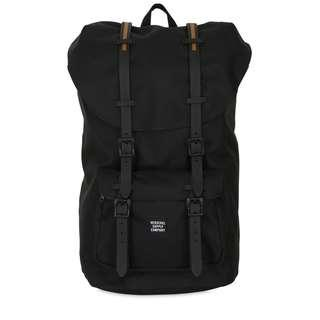 Herschel Supply Co. Little America Full-Volume Black/Gum Rubber Backpack 25L (Pre-loved)