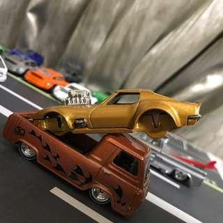 Hot Wheel De rivet Gas Monkey Corvette