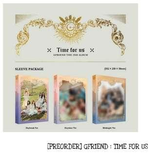 [PREORDER] GFRIEND TIME FOR US