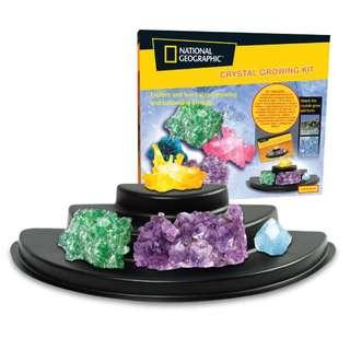 🌸 National Geographic Crystal Growing Kit
