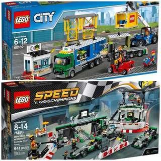 Lego 75883 & 60169