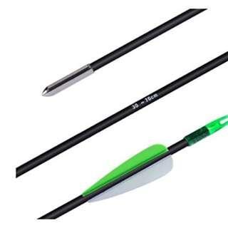 archery fiberglass arrow ( anak panah )