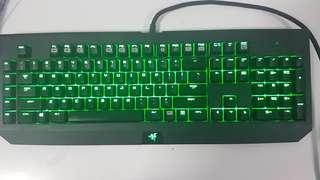Razer blackwidow ultimate 2014 green switch variant