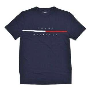 Tommy Hilfiger Classic Big T-Shirt Top in Navy