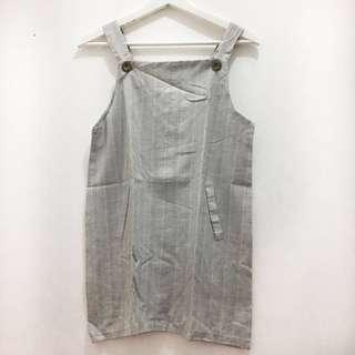 Stripes Overall Grey / Outer