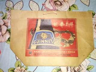 Guinness stout paper bag