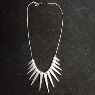 Silver Rays Necklace