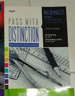 Secondary 1 maths assessment book