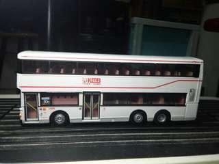 1:76富豪奥林比安空調雙層巴士80M九龍塘路線