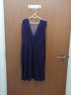 🚚 Maternity Dress purple
