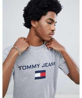 Tommy Jeans 90s Sailing Capsule Flag Logo Crew