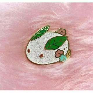 Japanese Snow Rabbit enamel pin/Yuki Usagi Pin