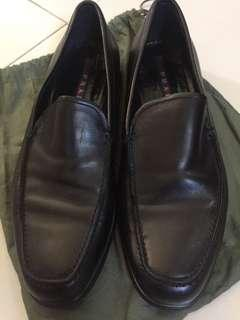 Prada black shoes auth rush sale