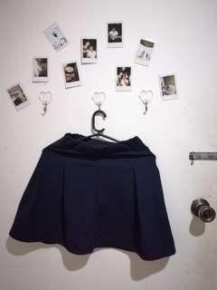 Mini skirt (dark blue)