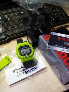 Casio G-Shock DW-5600 Custom Green Kermit
