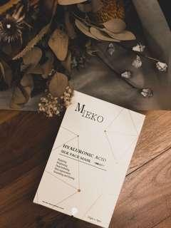 Mieko Hyaluronic Acid Silk Face Mask