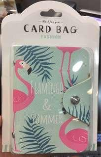 #bersihbersih Card Bag Flaminggo lucuu