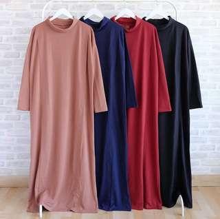 [BARU] Gamis Kaos / Dress / Busui