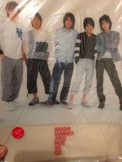 嵐 2002 演唱會周邊文件夾 A4 厚file ARASHI