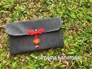 Handmade two slots angbao/ travel organizer
