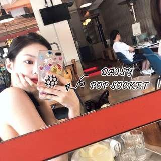 Daisy Pop Socket Phone Stand • G-Dragon PMO Peaceminusone Kwon Jiyong Bigbang BB Jennie BP Bplackpink Blink