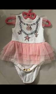 [Preloved] (3M-6M) Juicy Couture Tutu Dress