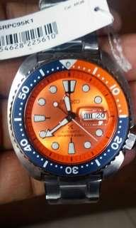 "Seiko Prospex Turtle Orange ""Nemo"" SRPC95K1 SRPC95"