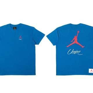 Union Jordan Tee Blue (Size: S)