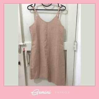 Korean Dress / Outer / Cream / Nude